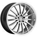 MANDRUS MILLENIUM 9,5x19 5x112 ET53 66,6 Gloss Black Mirror Cut Lip